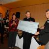 Serra Club presents check for $30,000 for Seminarian Stipends to the Archbishop